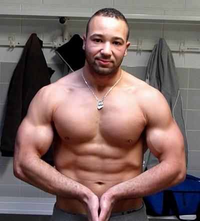 Avant-après en musculation de Karim