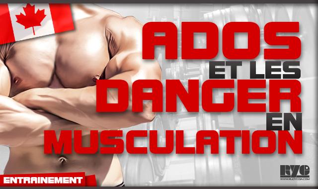 Adolescents - Quels dangers en musculation ?
