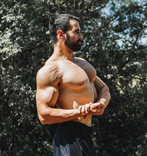 Muscler le haut des pectoraux