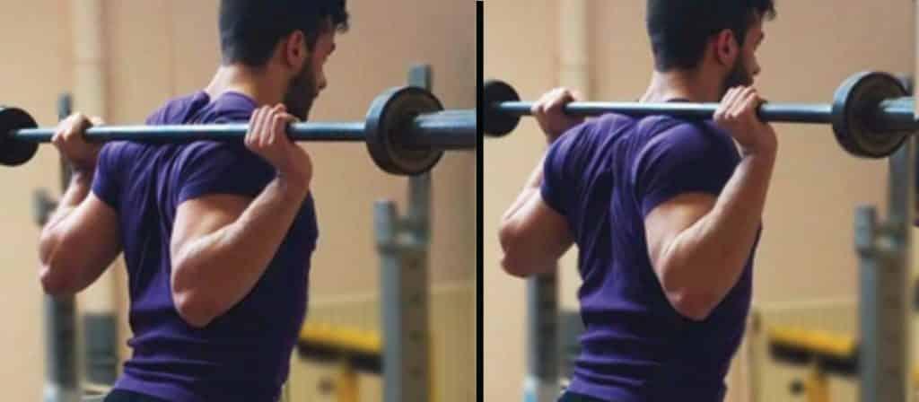 Squat en force athlétique